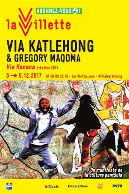 Les Via Katlehong invitent GregoryMaqoma