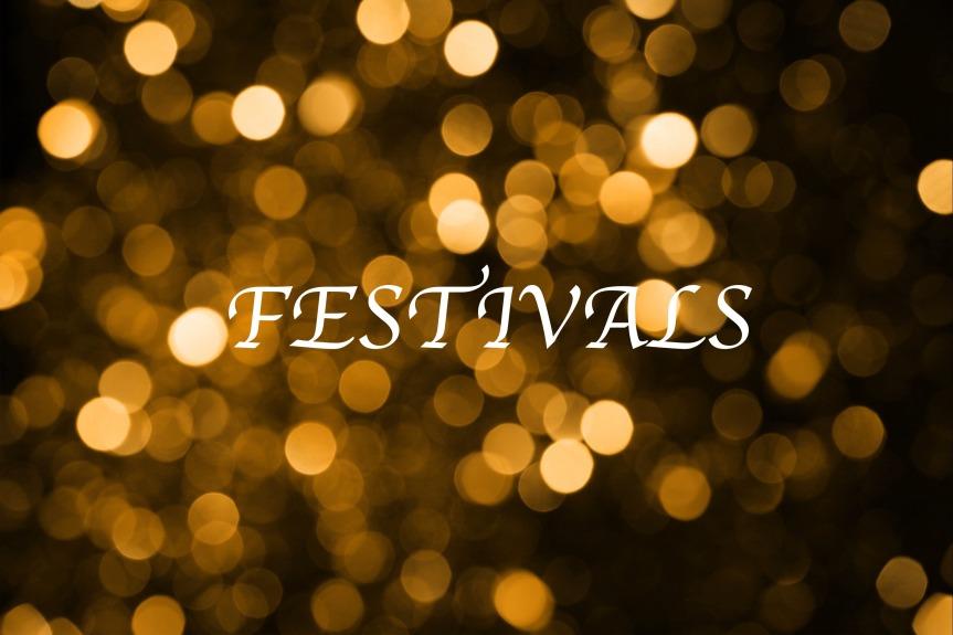 Les festivals été2018