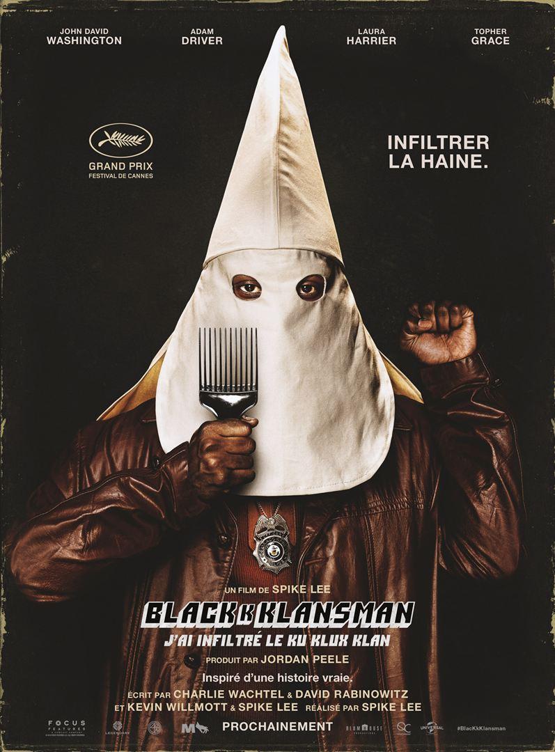 Blackkklansman: j'ai infiltré le ku kluxklan